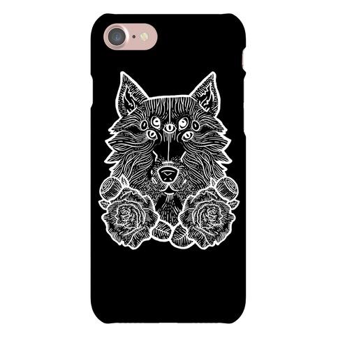 Seven Eyed Wolf Phone Case