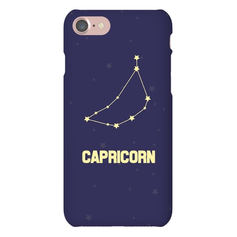 Capricorn Horoscope Sign Phone Case