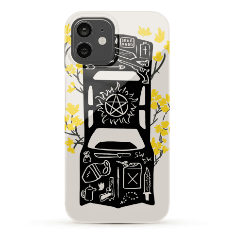 The Winchester Impala Phone Case