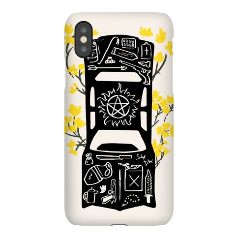 The Winchester Impala Phone Case