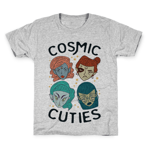 Cosmic Cuties Kids T-Shirt