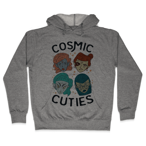 Cosmic Cuties Hooded Sweatshirt