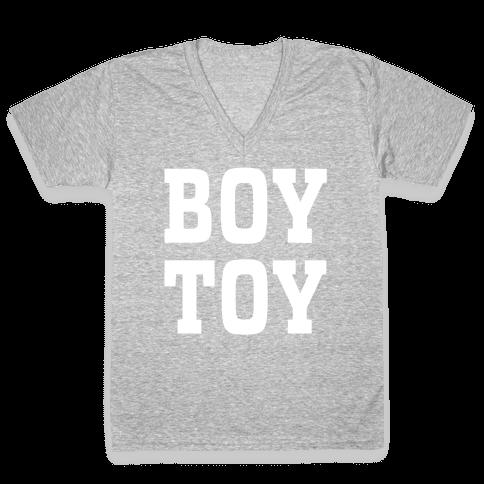 Boy Toy V-Neck Tee Shirt