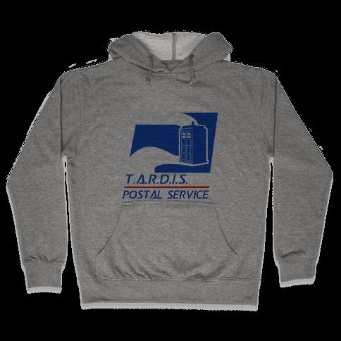 TARDIS Postal Service Hooded Sweatshirt