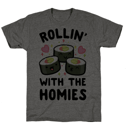 Rollin' With My Homies Mens T-Shirt