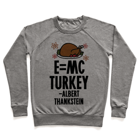 E=MC Turkey (Thanksgiving Science) Pullover