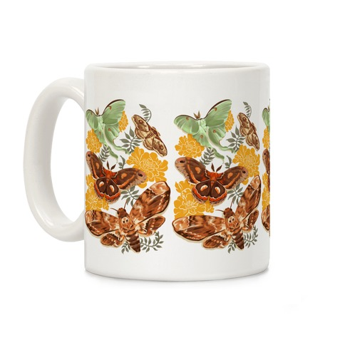 Moths & Marigolds Coffee Mug
