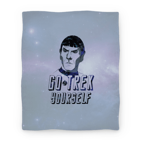 Go Trek Yourself Blanket