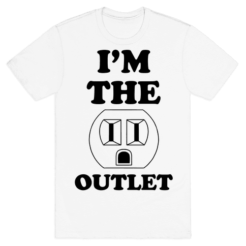 I'm The Outlet (Outlet and Plug Costume)