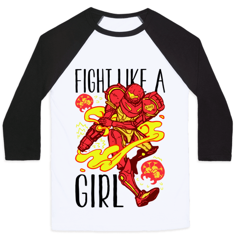 Fight Like A Girl Samus Parody