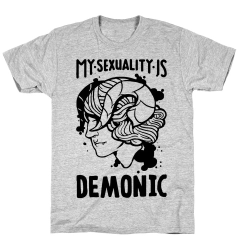My Sexuality Is Demons Mens/Unisex T-Shirt