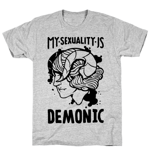 My Sexuality Is Demons Mens T-Shirt