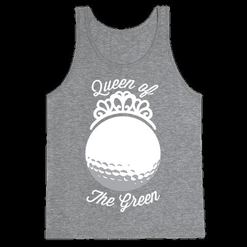 Queen Of The Green (Golf) Tank Top