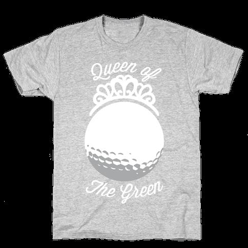 Queen Of The Green (Golf) Mens T-Shirt