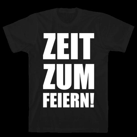 Zeit Zum Feiern Mens T-Shirt