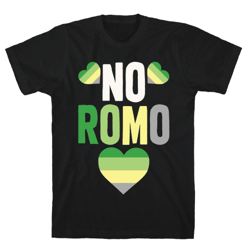 No Romo Mens T-Shirt