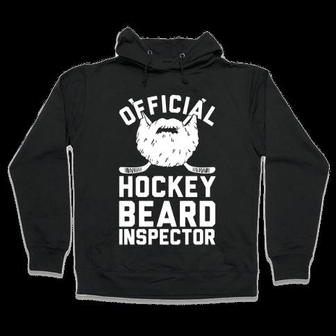 Official Hockey Beard Inspector Hooded Sweatshirt