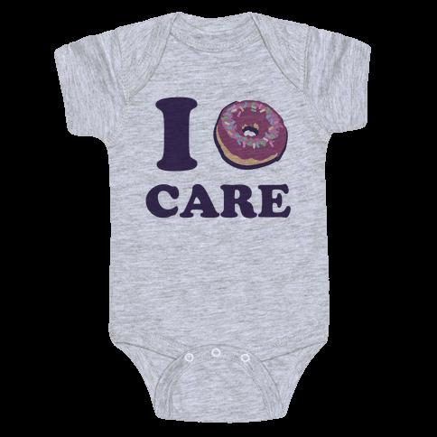 I Donut Care Baby Onesy