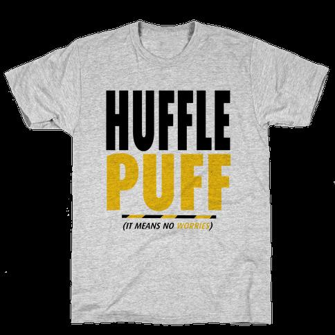 Hufflepuff (It Means No Worries) Mens T-Shirt
