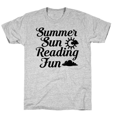 Summer Sun Reading Fun T-Shirt