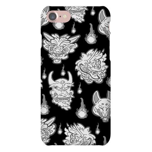 Oni Demons Pattern Phone Case