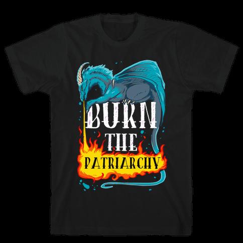 Burn the Patriarchy Mens T-Shirt