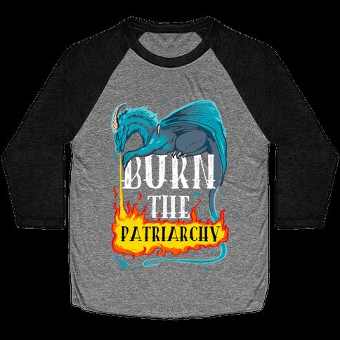 Burn the Patriarchy Baseball Tee