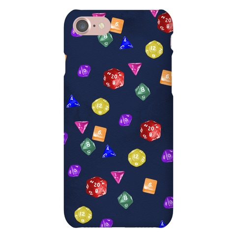 Nerds Just Wanna Have Fun Polyhedral Dice Phone Case