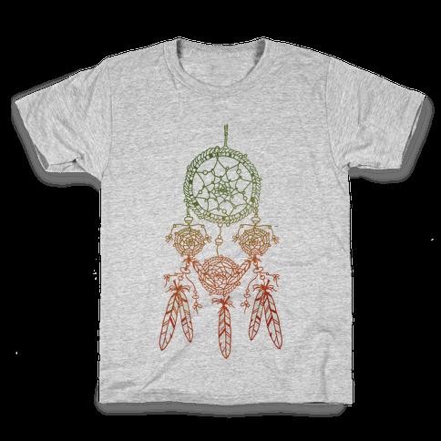 Ombre Dreamcatchers Kids T-Shirt