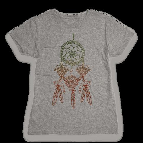 Ombre Dreamcatchers Womens T-Shirt