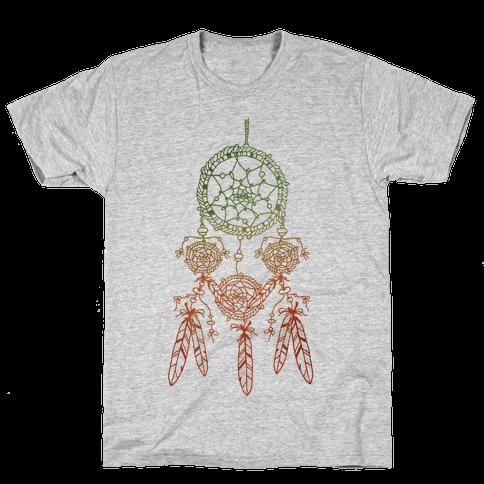 Ombre Dreamcatchers Mens T-Shirt