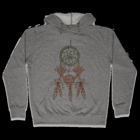Ombre Dreamcatchers Hooded Sweatshirt