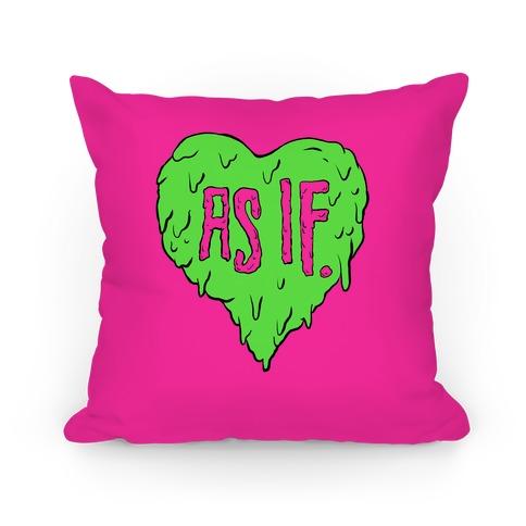 As If Heart Pillow