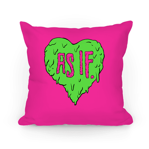As If Heart Pillow