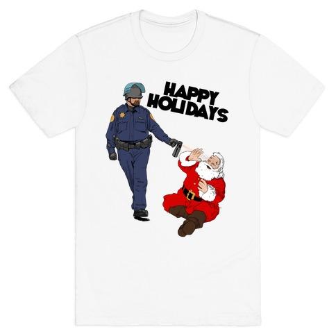 Officer Pike & Santa1 T-Shirt