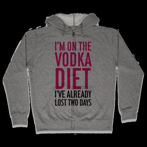 Vodka Diet Zip Hoodie
