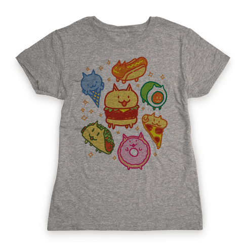 Cat Food Womens T-Shirt