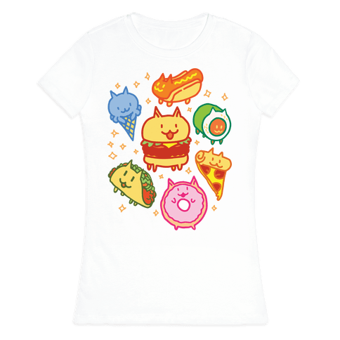 Cat Food Womens T-Shirt
