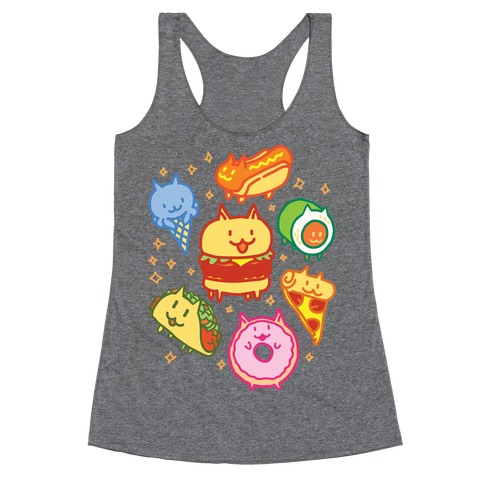 Cat Food Racerback Tank Top