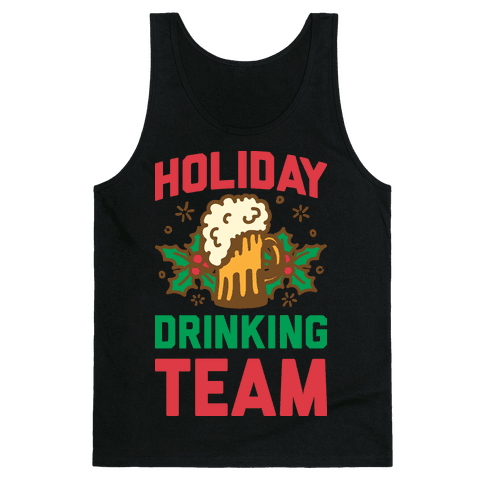 Holiday Drinking Team Tank Top