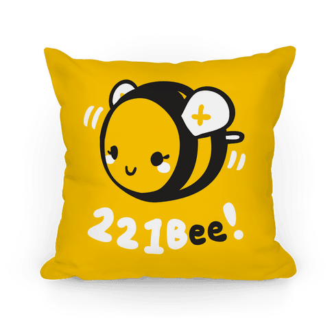 221 Bee Pillow Pillow