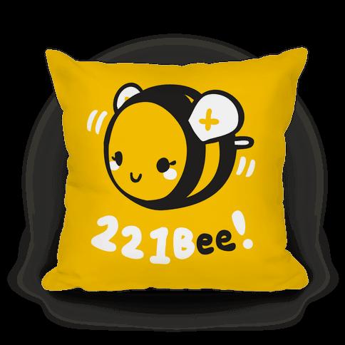221 Bee Pillow Pillow