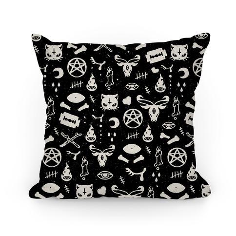 Cute Occult Pattern Pillow Pillow
