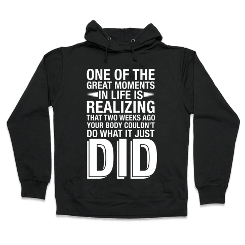 Realizing Great Moments Hooded Sweatshirt