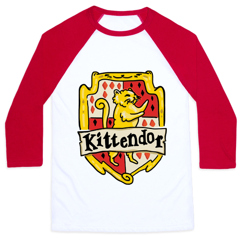 House Cats Kittendor Baseball Tee