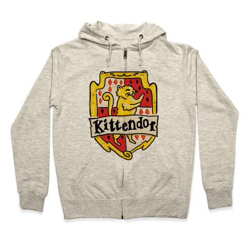 House Cats Kittendor Zip Hoodie