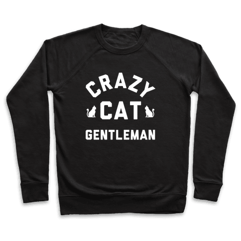 Crazy Cat Gentleman Pullover