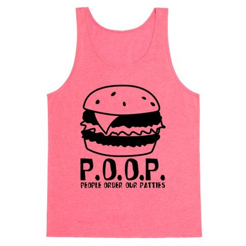 P.O.O.P. Tank Top