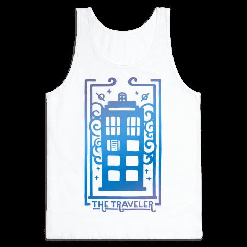 Time Traveler Tarot Tank Top