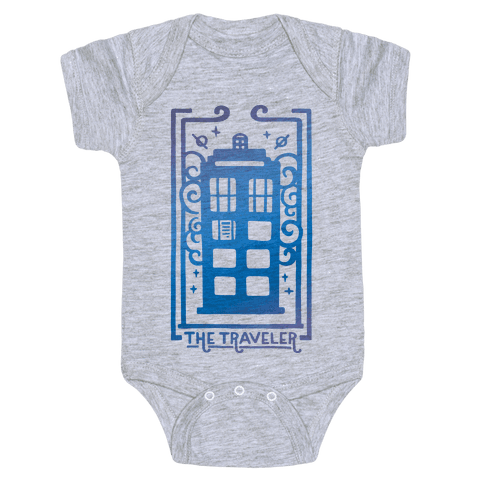 Time Traveler Tarot Baby Onesy